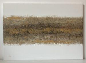 modern arany hatású olajfestmény